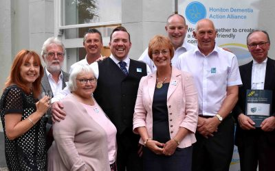 Honiton Dementia Action Alliance receives the Queen's Award for Voluntary Service